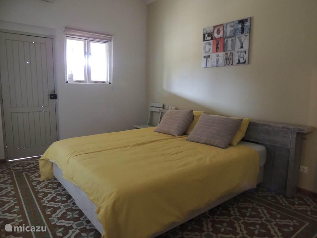 De slaapkamer in het appartement Quinta