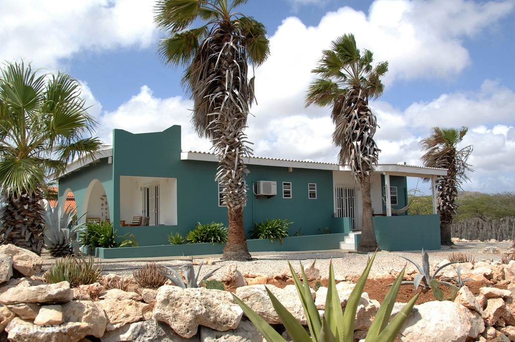 Bonaire16, relax in this haven of peace and discover the garden with indigenous plants and its inhabitants.