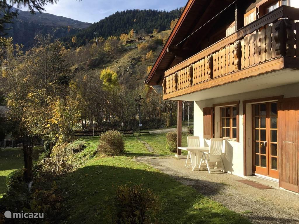 Vakantiehuis Zwitserland, Wallis, Blatten bei Naters chalet Numaga