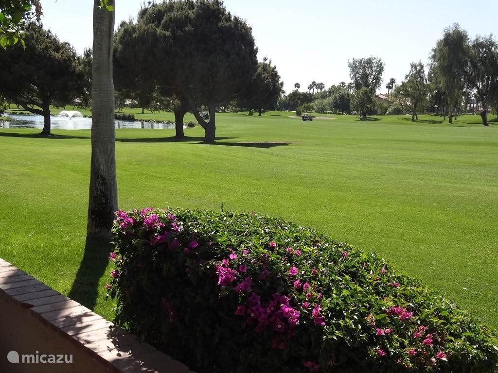 uitzicht over de golfcourse