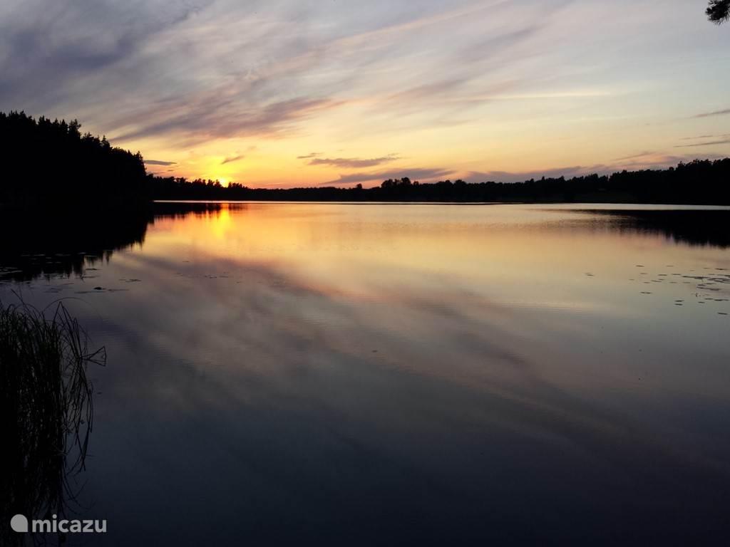 Het meer bij Stämtorp