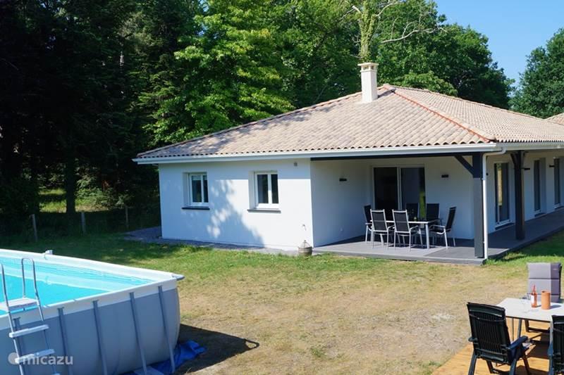 Vakantiehuis Frankrijk, Landes, Saint-Julien-en-Born Vakantiehuis Villa de Mahiou aan de kust