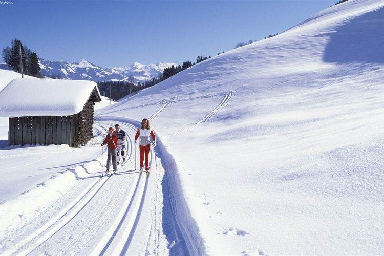 Besides skiing, you can experience great cross country