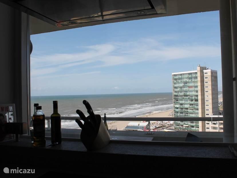 Koken met uitzicht op zee