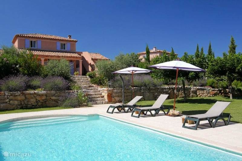 Vakantiehuis Frankrijk, Var, Nans-les-Pins Villa Provençaalse 6p. villa+prive zwembad