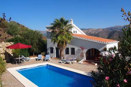 Vacation rental Spain, Costa del Sol, Torrox holiday house Los Pajaros