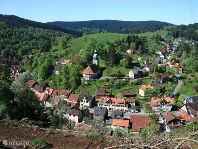 Vakantiehuis Duitsland, Harz, Wildemann Vakantiehuis AltesRathaus Wildemann
