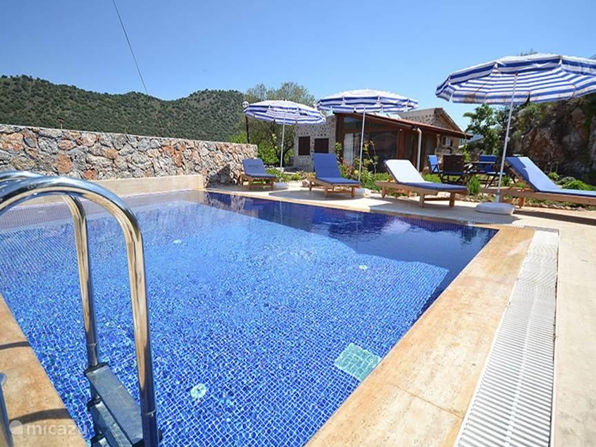 Vakantiehuis Turkije, Lycische Kust, Fethiye Vakantiehuis Elegant with private pool house sems