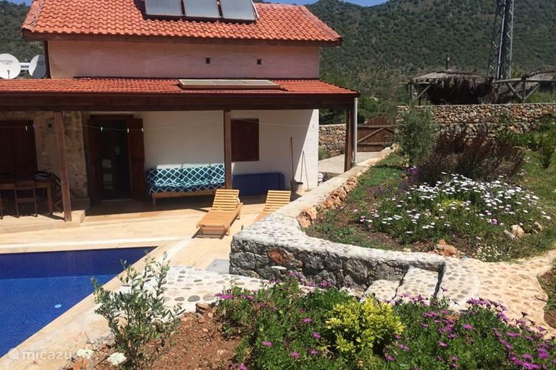 Vakantiehuis Turkije, Lycische Kust, Fethiye Vakantiehuis Rumi perfecte locatie prive zwembad