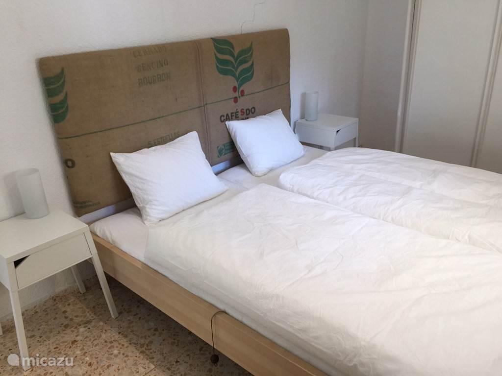 Slaapkamer in het gastenverblijf