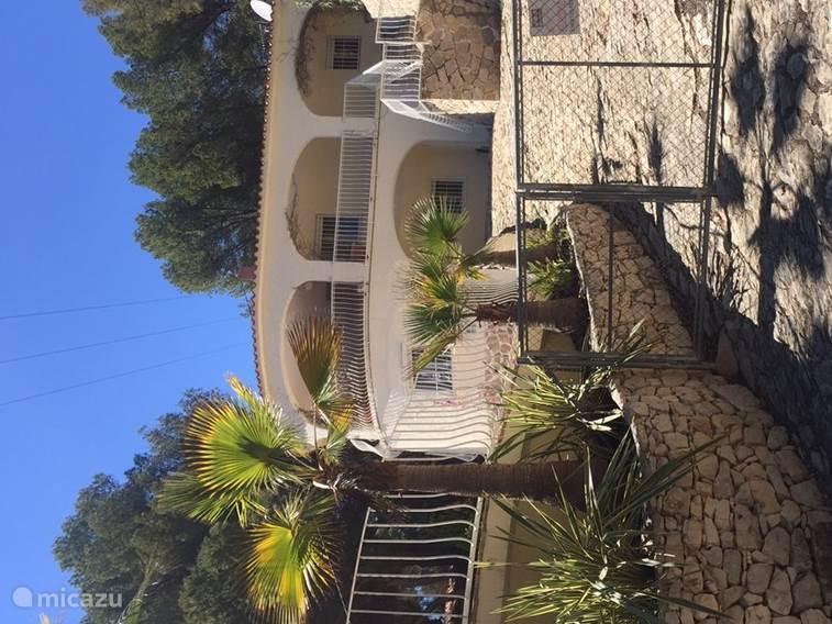 Voorzijde Villa Sophie