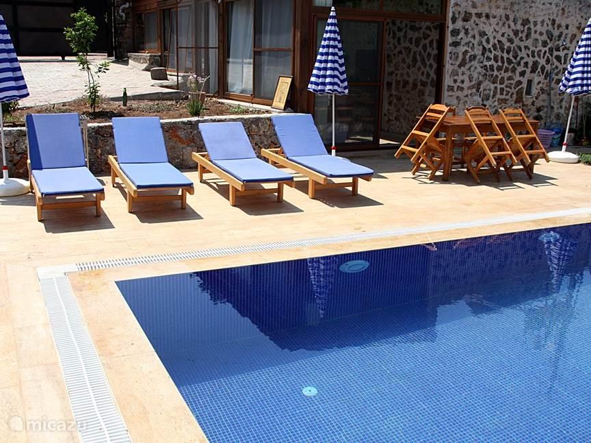 Vakantiehuis Turkije, Lycische Kust, Fethiye Vakantiehuis Huis Luvi unesco wereld erfgoed