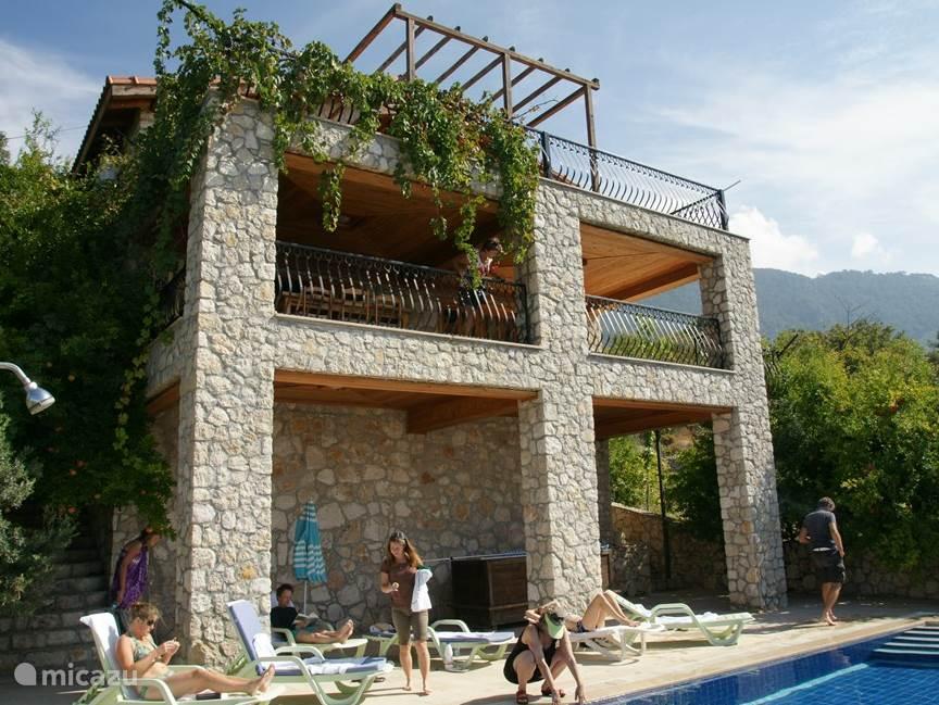 Vakantiehuis Turkije, Lycische Kust, Fethiye villa Villa Sokrates met prive zwembad