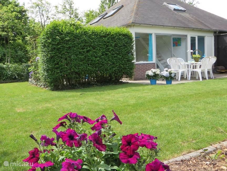 Vakantiehuis Nederland, Zeeland, Stavenisse bungalow Het aqua huisje