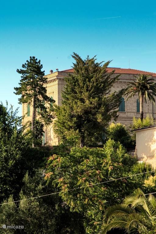 Een typische Italiaanse villa