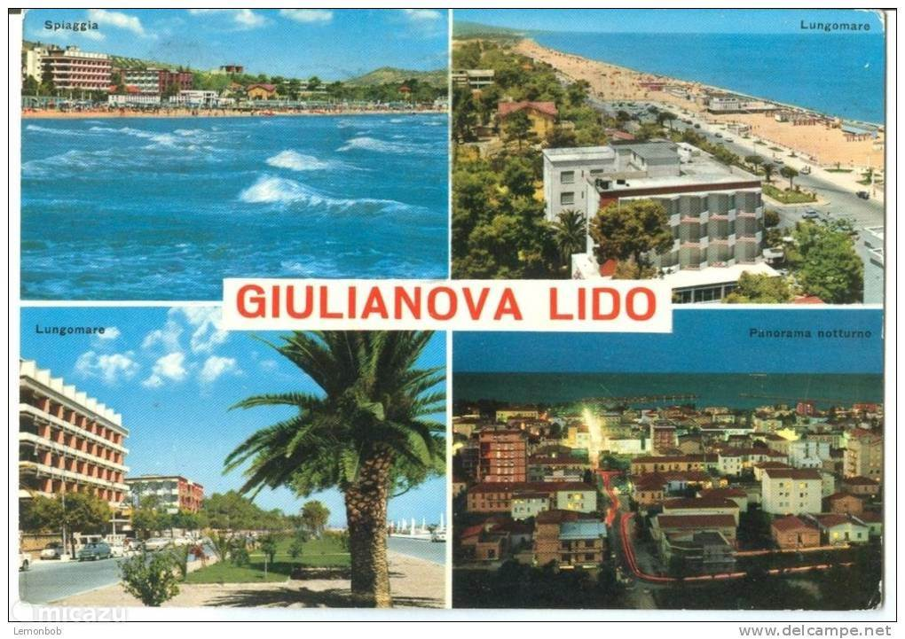 Giulianova op een afstand van 6 km van het appartement.
