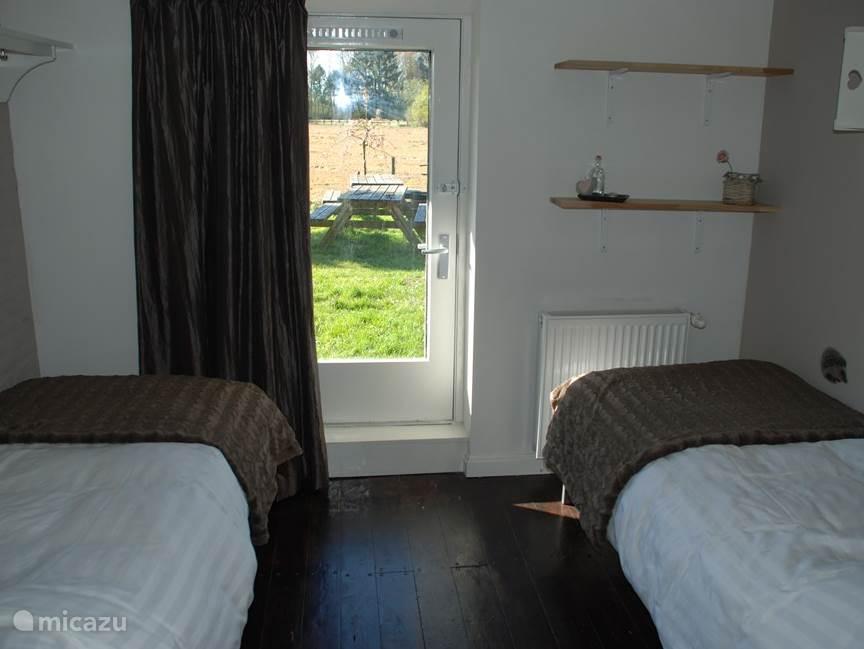 Slaapkamer 2, uitzicht.