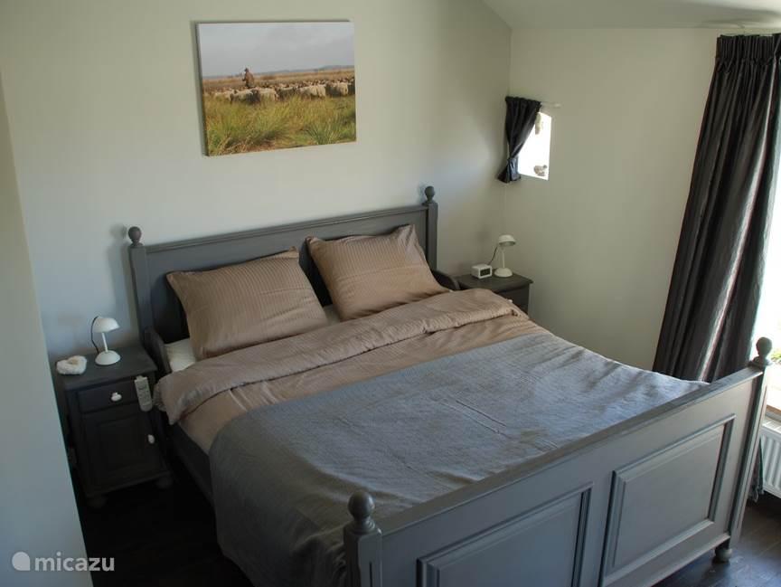 Masterbedroom met comfortabele elektrisch verstelbare bedden