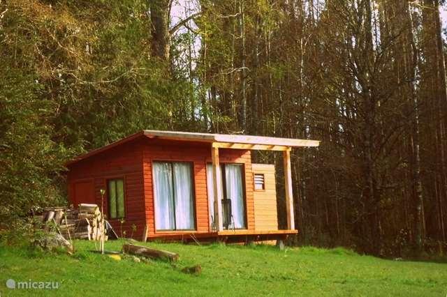 Ferienwohnung Chile – blockhütte / lodge Schlepperkabine für 2 Personen
