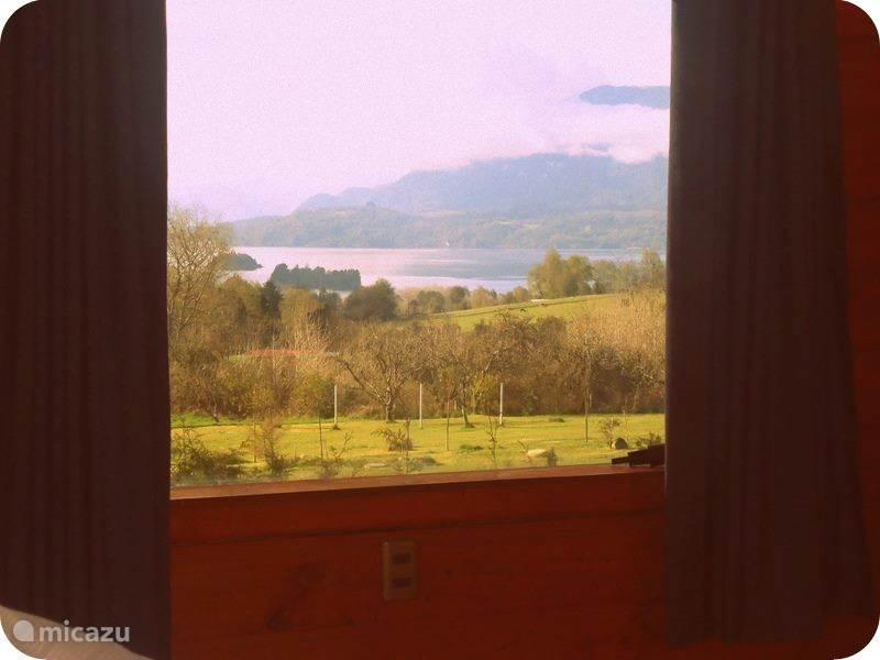 Uitzicht vanuit de slaapkamer
