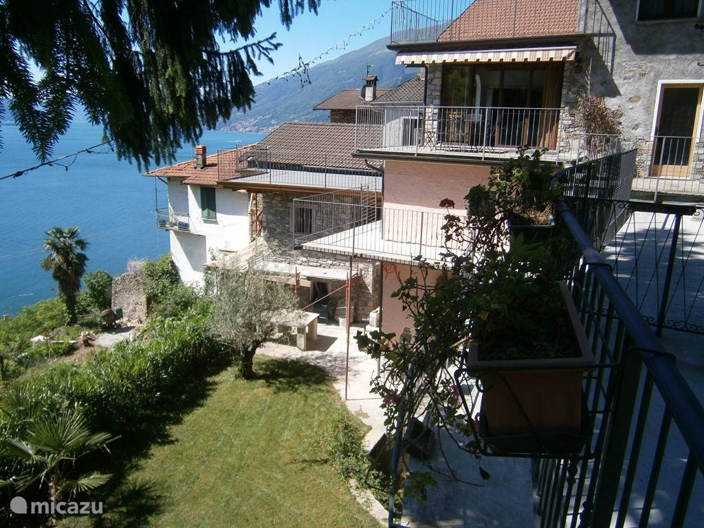 Vacation rental Italy, Lake Como, Gravedona apartment Casa Arianna mono