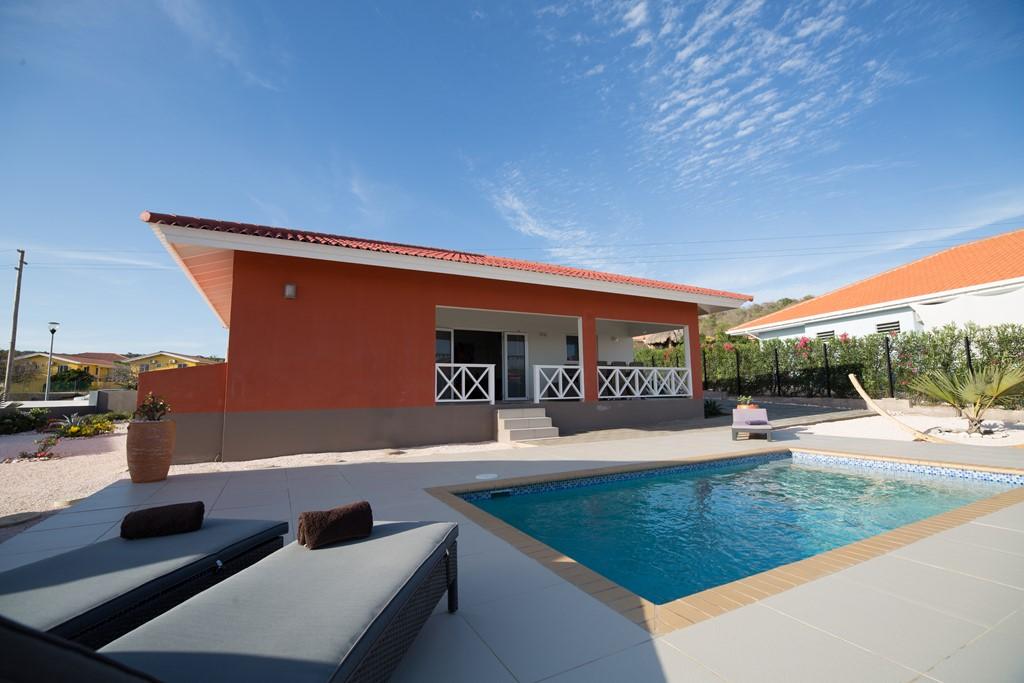 Luxe villa met privé zwembad  op een beveiligd resort. Gelegen bij de mooie stranden van Cas Abou Nu vanaf 06/11/tot 29/11 € 350/week op basis 2 pers