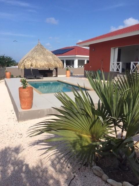 Villa met privé zwembad op een beveiligd resort. bij de mooie stranden van Cas Abou. verschillende periodes.zie agenda € 350 op basis van 2 pers
