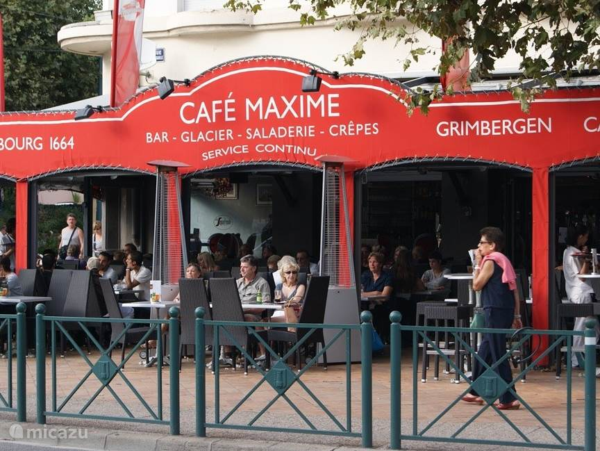 Cafe Maxime in Sainte-Maxime