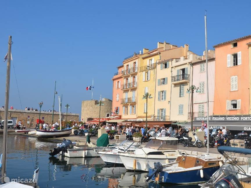 De haven van Saint-Tropez