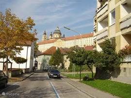 The monastery Melk on the UNESCO list of World Heritage sites!