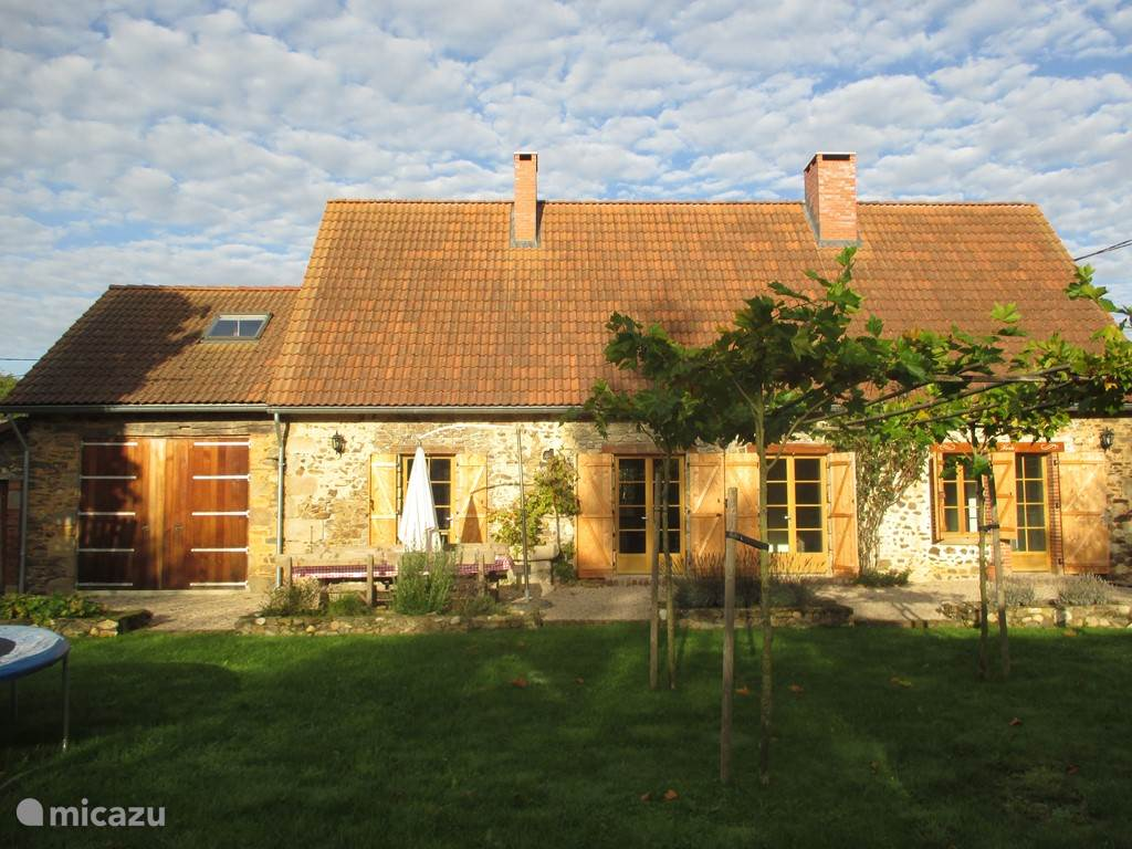 Vacation rental France, Limousin, Moutier-Malcard villa Villa Verte