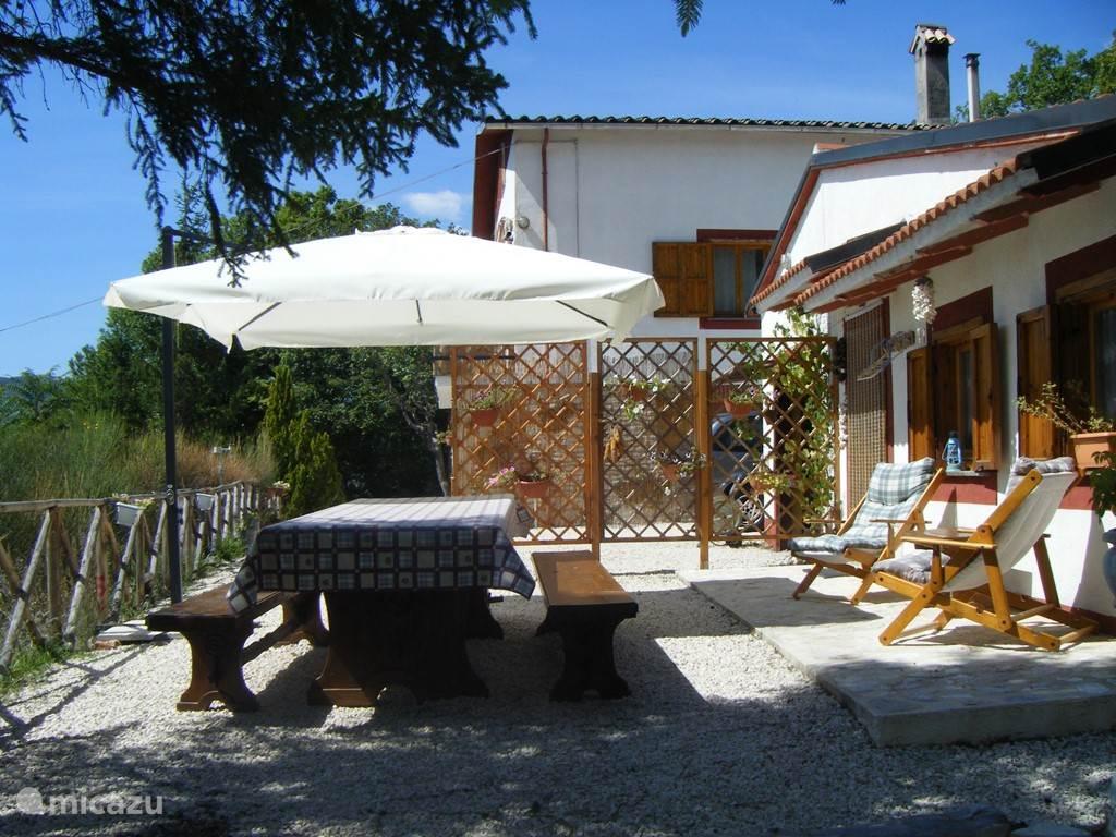 Vakantiehuis Italië, Umbrië, Cerreto di Spoleto - studio Rustico Fergino