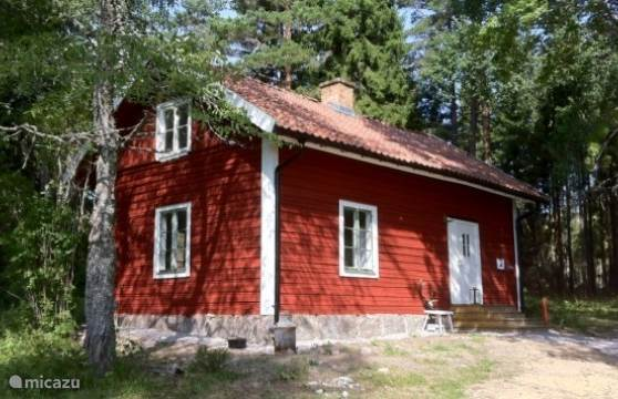 Vakantiehuis Zweden, Södermanland, Nykoping blokhut / lodge Ullaberg