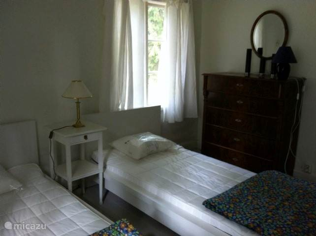 Slaapkamer beneden.