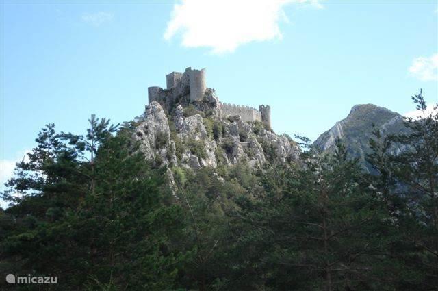 De bekende Katharenburcht Montsegur