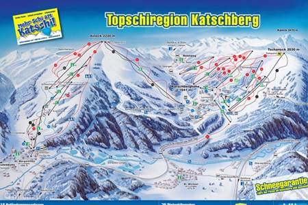 plattegrond skigebied