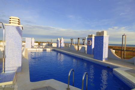 Vakantiehuis Spanje, Costa Dorada, Eucaliptus – appartement Zeezicht met zwembad 'Luna naciente'