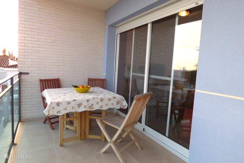 Vakantiehuis Spanje, Costa Dorada, Eucaliptus Appartement Zeezicht met zwembad 'Luna naciente'