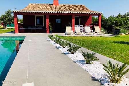 Vakantiehuis Portugal, Algarve, Benagil finca Quinta Vermelha