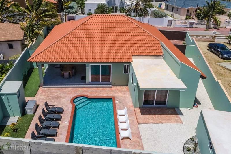 Vakantiehuis Aruba, Noord, Westpunt villa Safir ARUBA - 5 minuten van strand!
