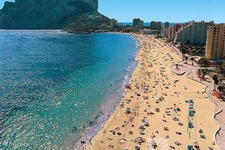Stranden in de omgeving