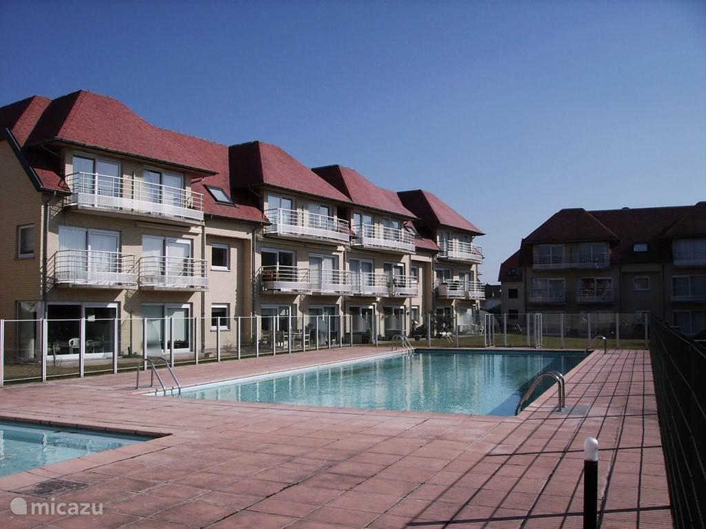 Vacation Rental Belgium, Belgian Coast, De Haan Apartment Green Garden ...