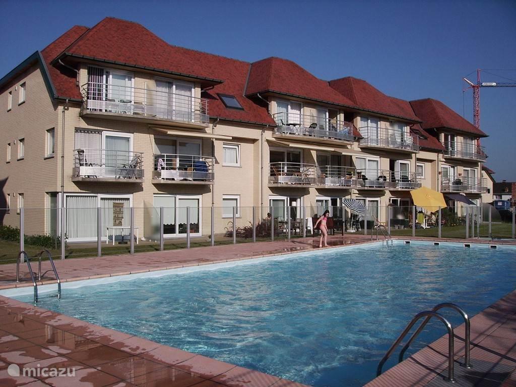 Vacation rental Belgium, Belgian Coast, De Haan Apartment Green Garden