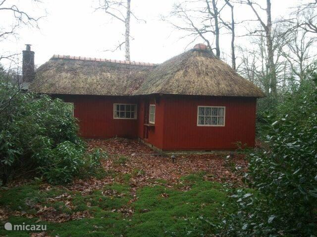 De oude raampjes uit getrokken glas, het rieten dak, de houten buitenkant: alle originele details zijn zoveel mogelijk bewaard!