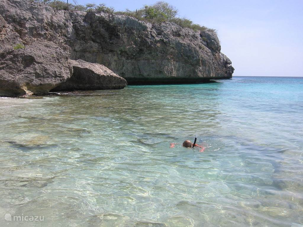 The beach of Cas Abao. Regarded by many as the most beautiful beach in Curacao!