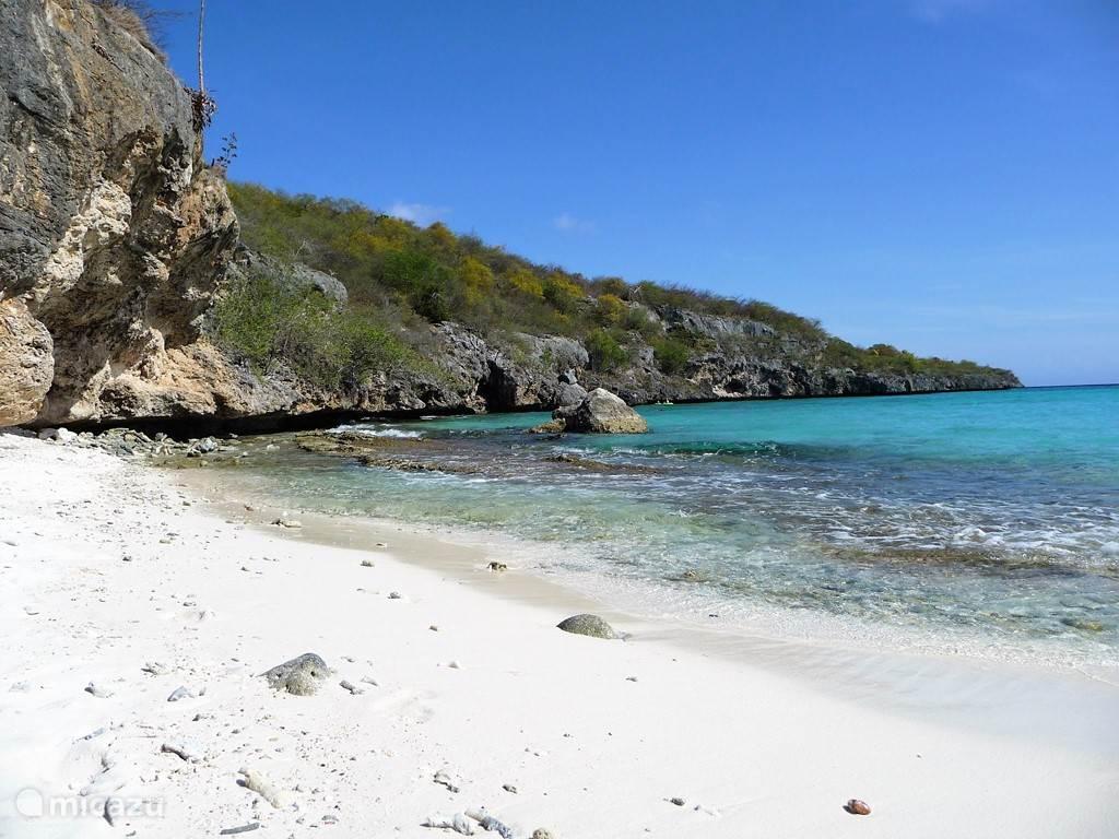 Het strand van Cas Abao. Ze zeggen....het mooiste strand van het eiland....
