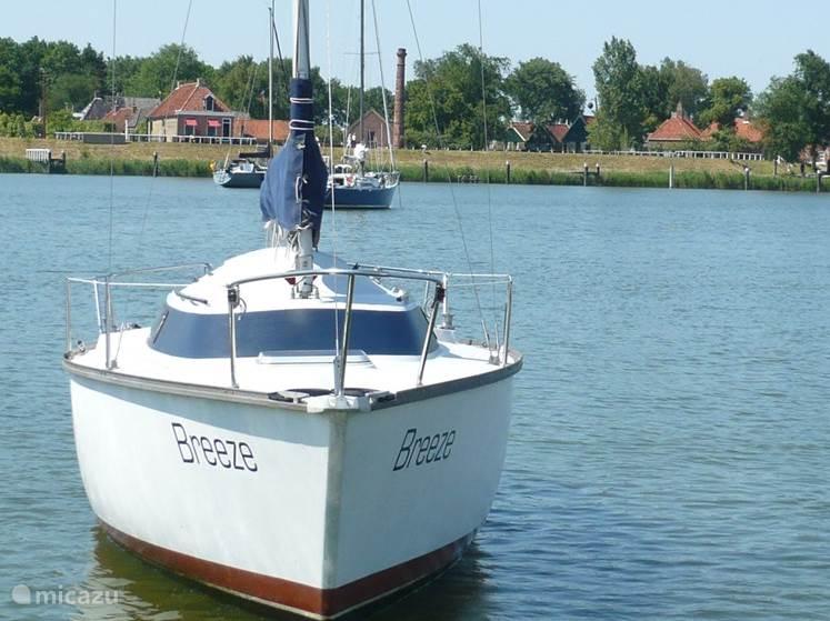 Vakantiehuis Nederland, Noord-Holland, Enkhuizen camper / jacht / woonboot Zeilboot aan het IJsselmeer