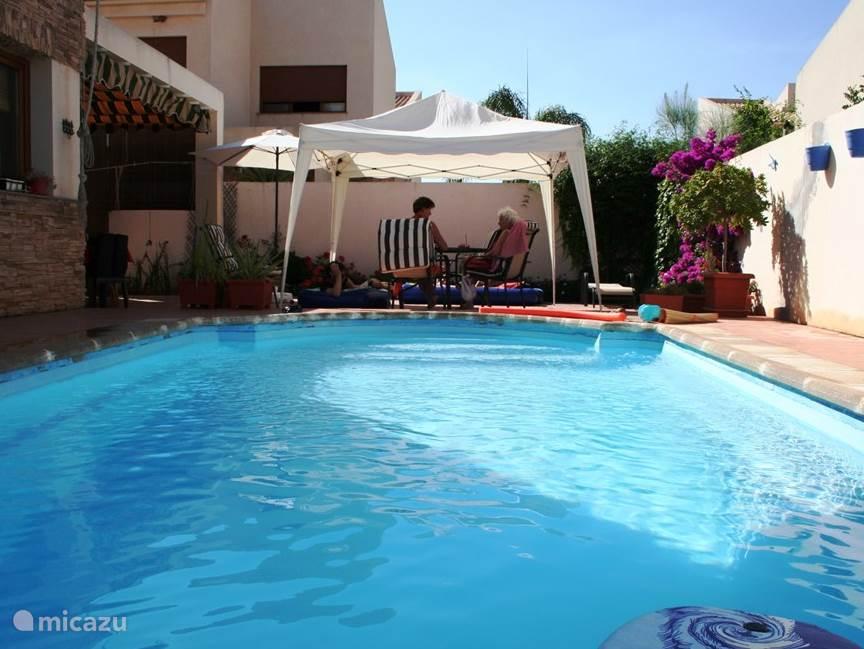 Vakantiehuis Spanje, Andalusië, Durcal - villa Casa El Zahor, privezwembad,WiFi.