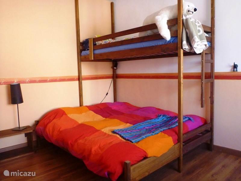 3 persoons slaapkamer, leuk voor de kinderen