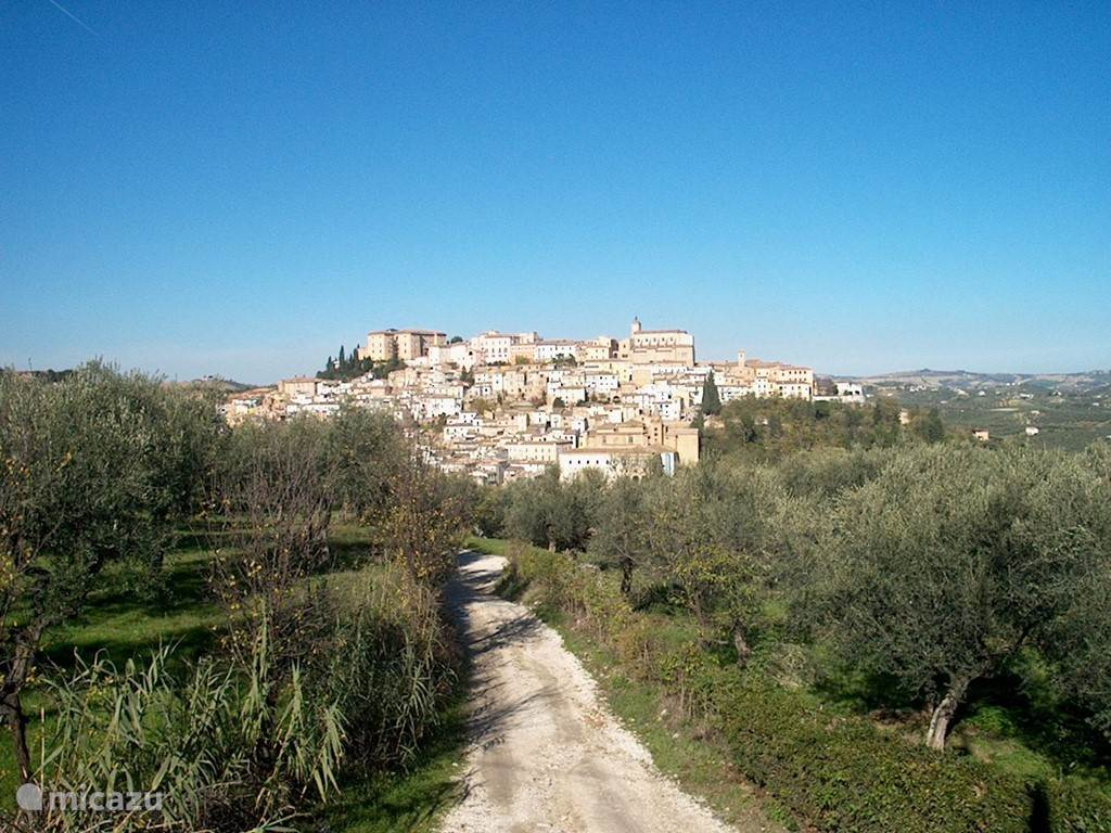 Vakantiehuis Italië, Abruzzen – stadswoning Villa della Volpe
